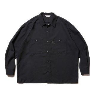 COOTIE/T/W WORK L/S SHIRT/ブラック