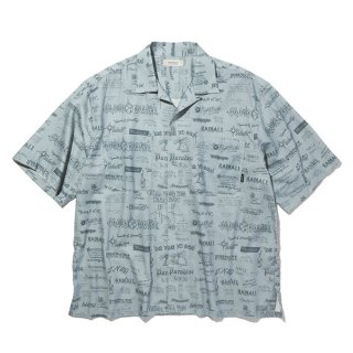 <img class='new_mark_img1' src='https://img.shop-pro.jp/img/new/icons8.gif' style='border:none;display:inline;margin:0px;padding:0px;width:auto;' />RADIALL/WALLTAG-OPEN COLLARED SHIRT S/S