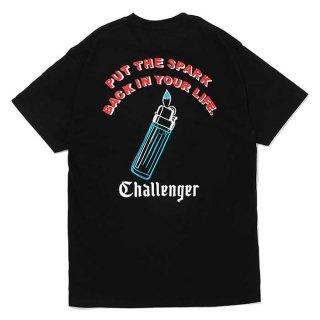 CHALLENGER/PUT THE SPARK TEE/ブラック