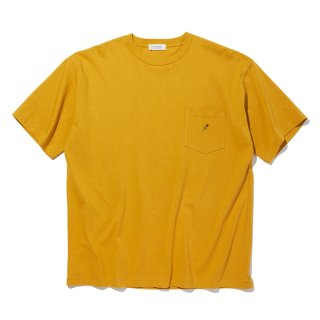 <img class='new_mark_img1' src='https://img.shop-pro.jp/img/new/icons8.gif' style='border:none;display:inline;margin:0px;padding:0px;width:auto;' />RADIALL/ROSE-CREW NECK POCKET T-SHIRT S/S/マスタード