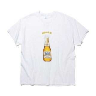 <img class='new_mark_img1' src='https://img.shop-pro.jp/img/new/icons8.gif' style='border:none;display:inline;margin:0px;padding:0px;width:auto;' />RADIALL/ORALE-CREW NECK T-SHIRT S/S/ホワイト