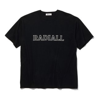 <img class='new_mark_img1' src='https://img.shop-pro.jp/img/new/icons8.gif' style='border:none;display:inline;margin:0px;padding:0px;width:auto;' />RADIALL/OUTLINE-CREW NECK T-SHIRT S/S/ブラック