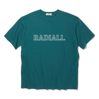 <img class='new_mark_img1' src='https://img.shop-pro.jp/img/new/icons8.gif' style='border:none;display:inline;margin:0px;padding:0px;width:auto;' />RADIALL/OUTLINE-CREW NECK T-SHIRT S/S/グリーン