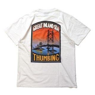 THUMBING/GREAT INLAND SEA/ホワイト/送料無料