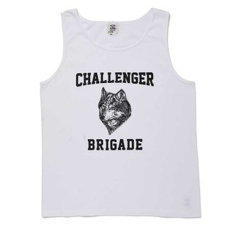 <img class='new_mark_img1' src='https://img.shop-pro.jp/img/new/icons8.gif' style='border:none;display:inline;margin:0px;padding:0px;width:auto;' />CHALLENGER/LOGO TANK TOP/ホワイト