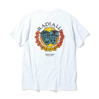 RADIALL/TWO FACE-CREW NECK T-SHIRT S/S/アッシュグレー