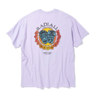 RADIALL/TWO FACE-CREW NECK T-SHIRT S/S/パープル