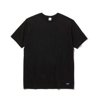 RADIALL/BASIC-CREW NECK T-SHIRT S/S/ブラック