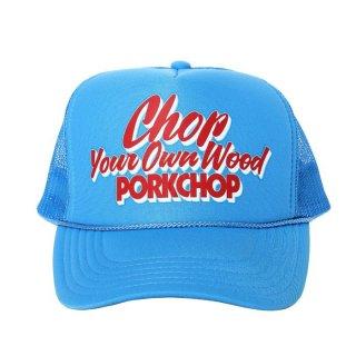 PORKCHOP/CHOP YOUR OWN WOOD CAP/コロンビアブルー