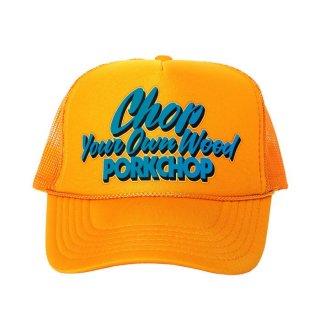 PORKCHOP/CHOP YOUR OWN WOOD CAP/ゴールド