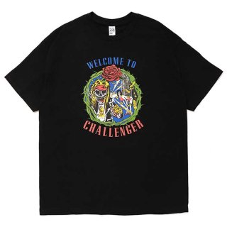 CHALLENGER/WELCOME TO CHALLENGER TEE/ブラック