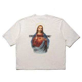 COOTIE/PRINT OVERSIZED S/S TEE(JESUS)
