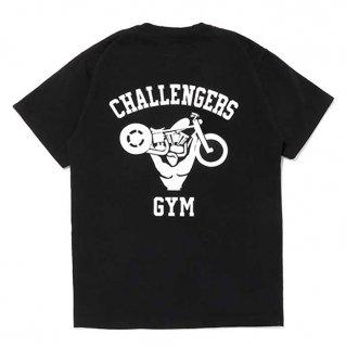 CHALLENGER/CHALLENGERS GYM TEE/ブラック