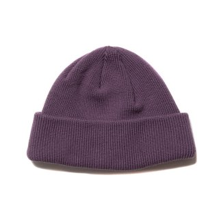 <img class='new_mark_img1' src='https://img.shop-pro.jp/img/new/icons8.gif' style='border:none;display:inline;margin:0px;padding:0px;width:auto;' />COOTIE/CUFFED BEANIE/パープル