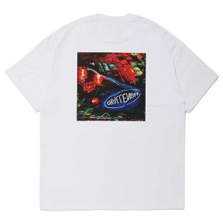 CHALLENGER/PUDDLE TEE/ホワイト