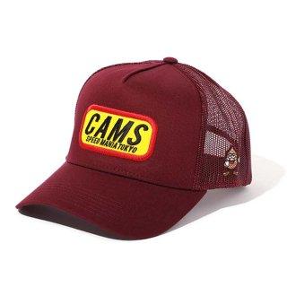 CHALLENGER/CAMS MESH CAP/マルーン