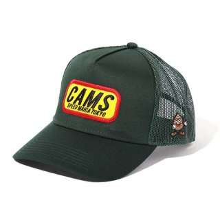CHALLENGER/CAMS MESH CAP/フォレストグリーン