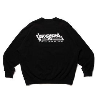 COOTIE/PRINT CREWNECK SWEATSHIRT (316)/ブラック