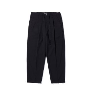 RADIALL/LO-N-SLO-WIDE FIT TROUSERS/ブラック