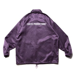 <img class='new_mark_img1' src='https://img.shop-pro.jp/img/new/icons8.gif' style='border:none;display:inline;margin:0px;padding:0px;width:auto;' />COOTIE/R/C SATIN COACH JACKET/パープル