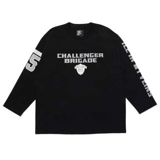 <img class='new_mark_img1' src='https://img.shop-pro.jp/img/new/icons8.gif' style='border:none;display:inline;margin:0px;padding:0px;width:auto;' />CHALLENGER/HEAVY WEIGHT BRIGADE TEE/ブラック