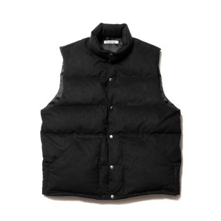 <img class='new_mark_img1' src='https://img.shop-pro.jp/img/new/icons8.gif' style='border:none;display:inline;margin:0px;padding:0px;width:auto;' />COOTIE/FAKE SUEDE DOWN VEST