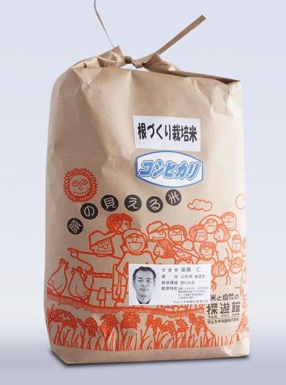 【新米】令和2年産 根づくり栽培米 コシヒカリ 5kg