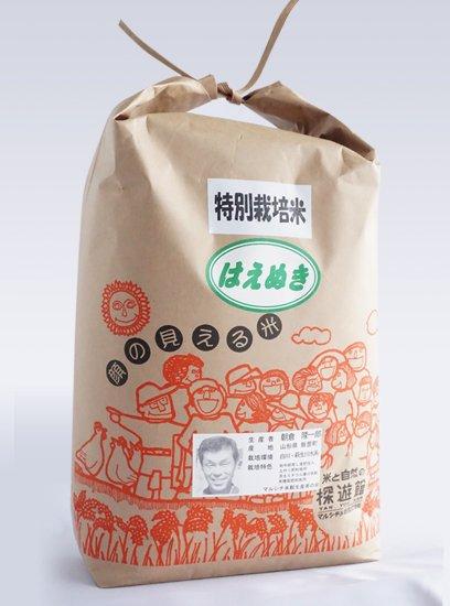 令和2年産 特別栽培米 はえぬき 5kg