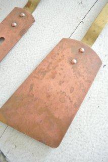 フランスアンティーク 銅製(コッパー)壁掛キッチンツール(へら)