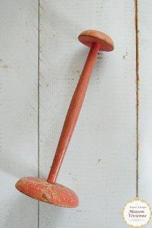 フランスアンティーク 木製帽子スタンド(ピンク)