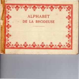 Alphabet de la brodeuse アンティーク刺繍図案集【クリックポスト送料無料】