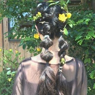 Hair parts