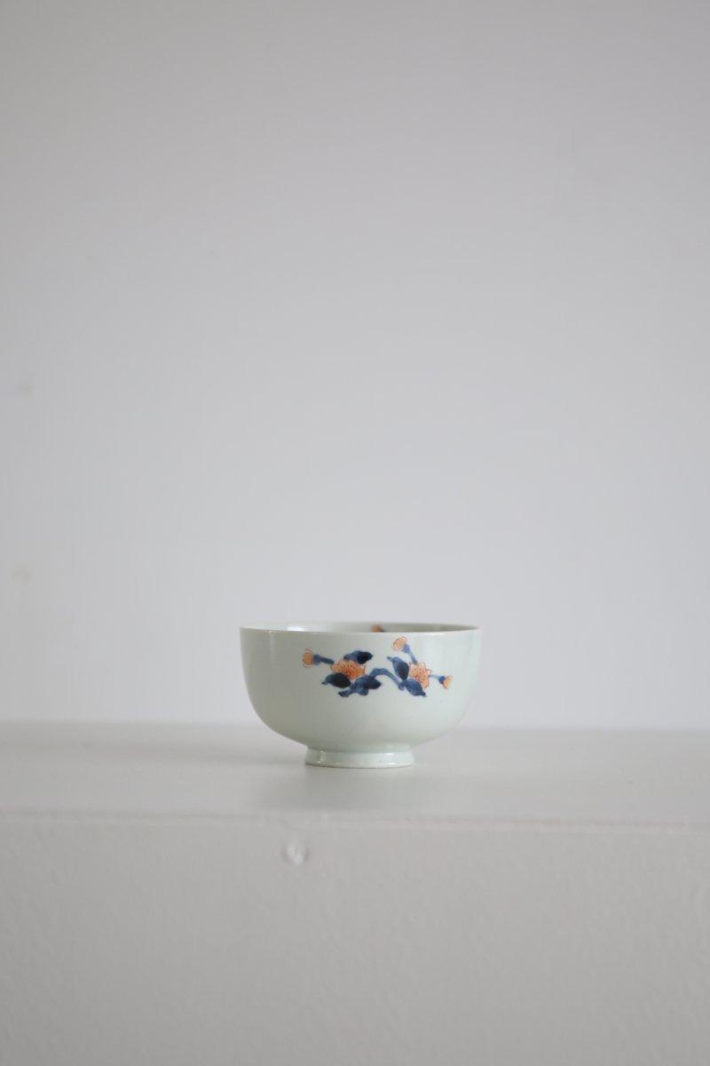 色絵櫻花紋碗