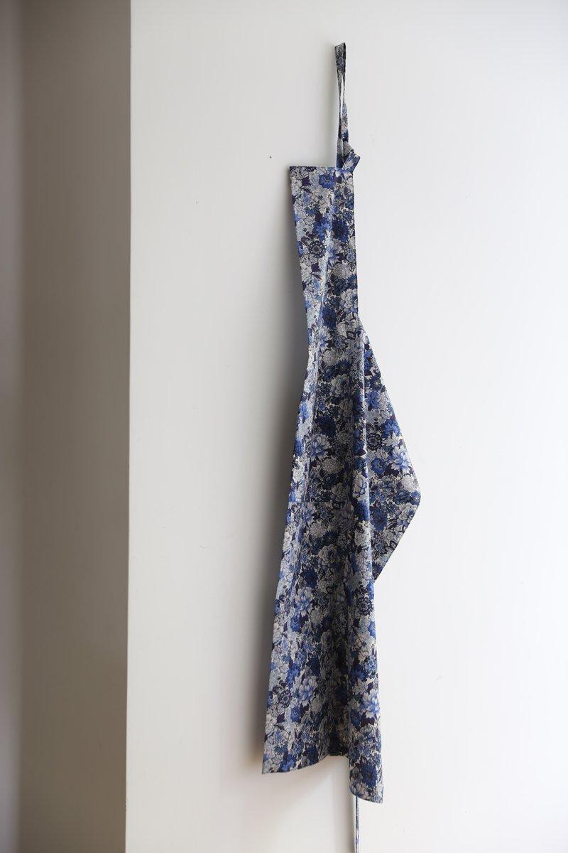 LIBERTYエプロン|blue white