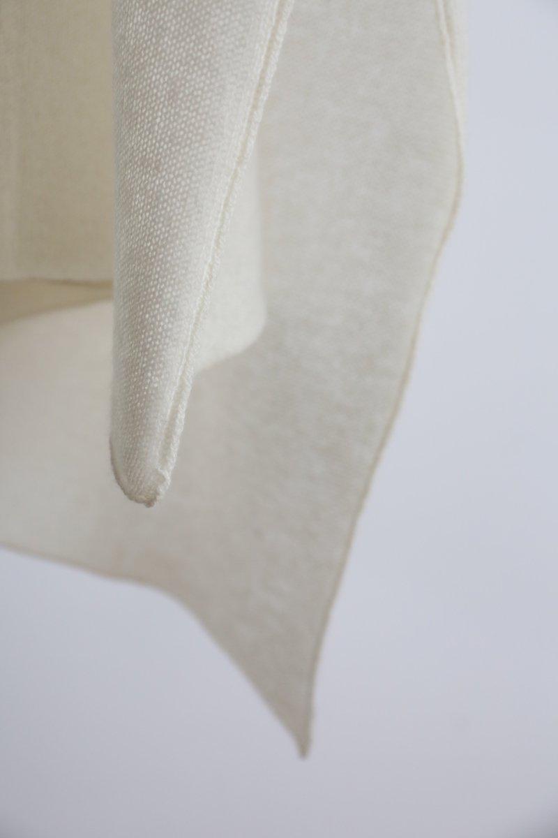 Cashmere Stole|off white