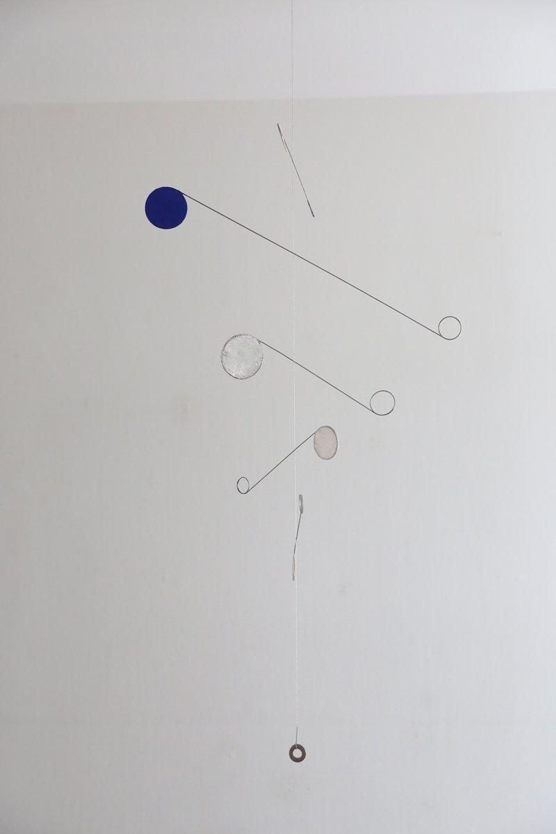 モビール M|青銀