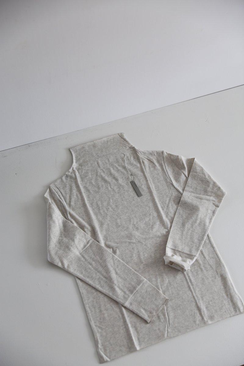オフネック長袖 cotton 4 colors