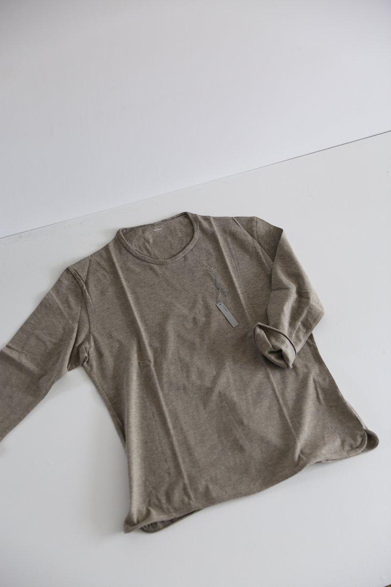 くるん八分袖 cotton 4 colors