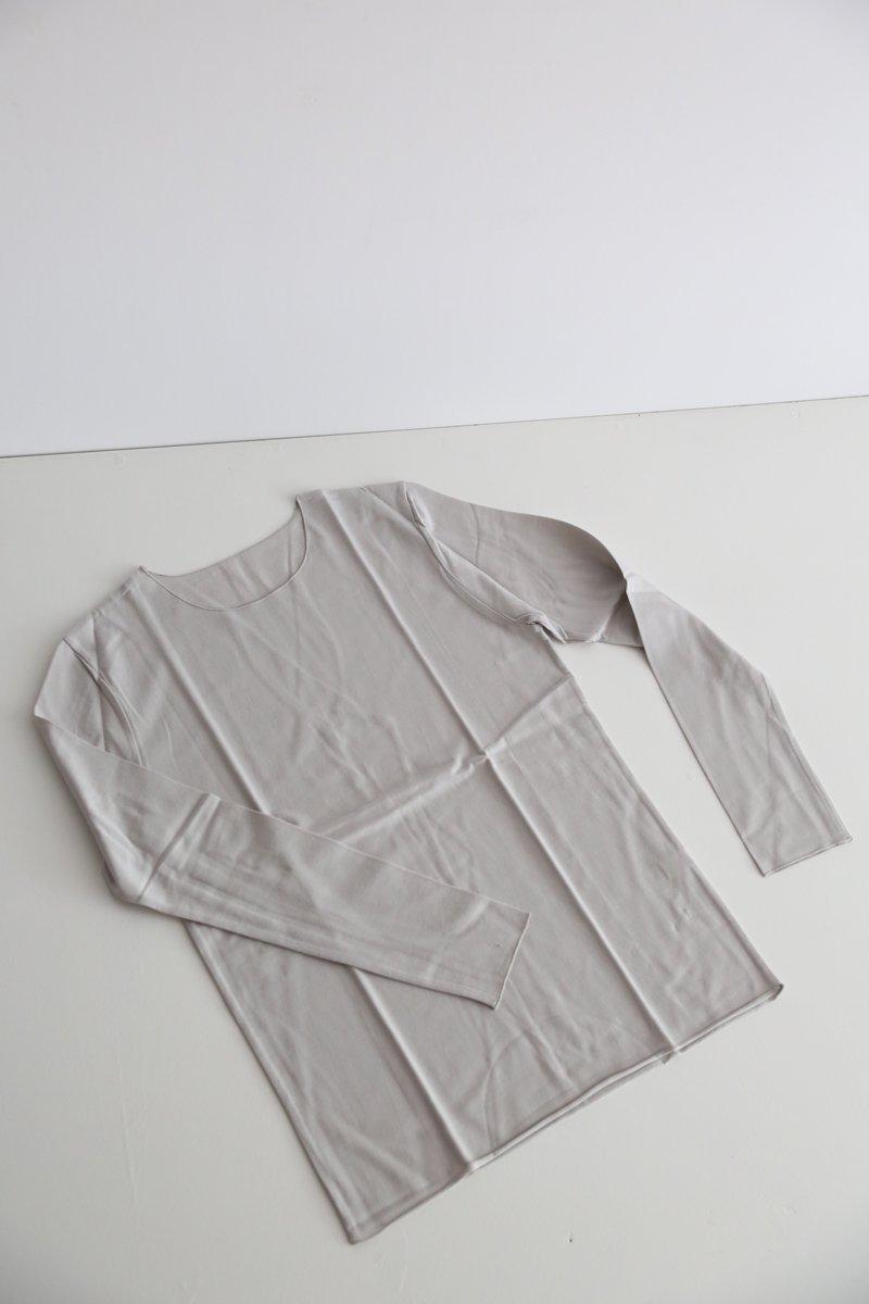 フィット長袖 cotton 4 colors