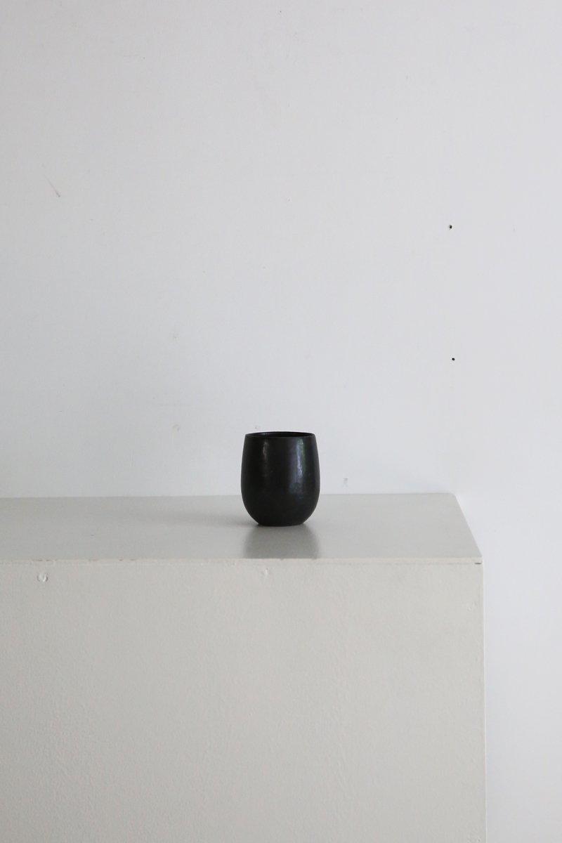 黒唐津麦酒杯
