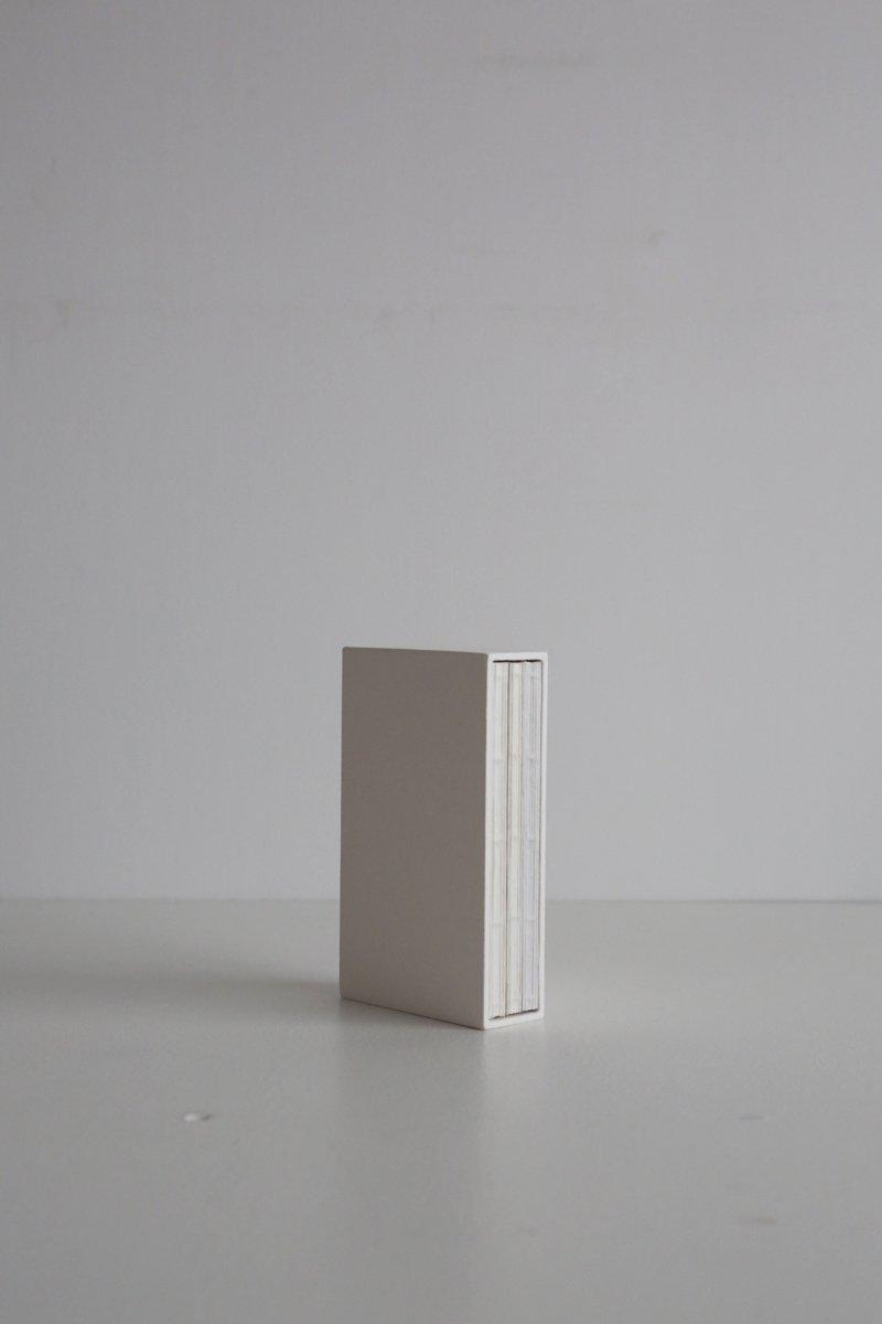 箱入りのノート M 3冊入り ホワイト
