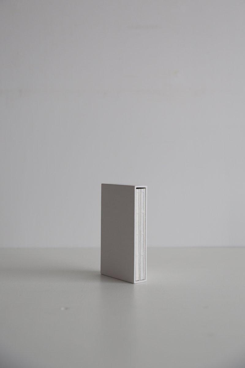 箱入りのノート M 2冊入り ホワイト