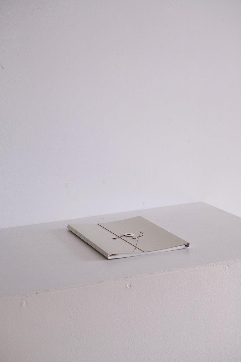 グラシン紙のファイル  A5|杢浅葱