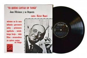 Juan D'Arienzo y su Orquesta / Yo Quiero Cantar Un Tango / ファン・ダリエンソ