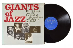 Dizzy Gillespie, Sonny Stitt, Kai Winding, Thelonious Monk, Al McKibbon, Art Blakey / Giants Of Jazz