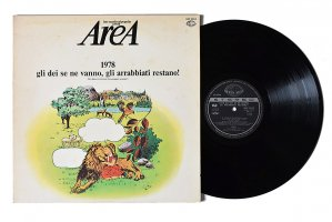 Area / 1978 Gli Dei Se Ne Vanno, Gli Arrabbiati Restano! / アレア