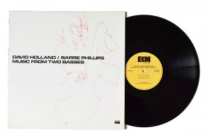 David Holland / Barre Phillips / Music From Two Basses / デイヴ・ホランド / バール・フィリップス