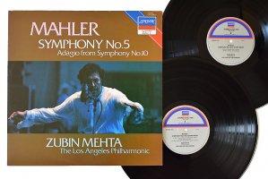 マーラー : 交響曲 第5番 嬰ハ短調 / ズービン・メータ / ロスアンジェルス・フィルハーモニック