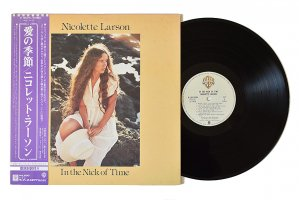 Nicolette Larson / In The Nick Of Time / ニコレット・ラーソン / 愛の季節