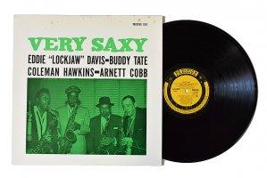 Very Saxy / Eddie Lockjaw Davis, Buddy Tate, Coleman Hawkins, Arnett Cobb / ホーキンス~テイト~コブ~デイビス